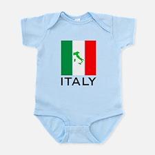 italy flag 00 Infant Bodysuit