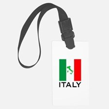 italy flag 00 Luggage Tag