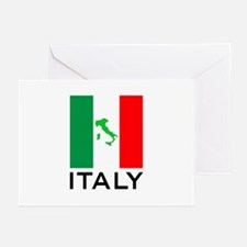 italy flag 00 Greeting Cards (Pk of 20)