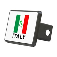 italy flag 00 Hitch Cover