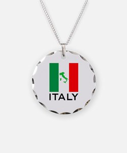 italy flag 00 Necklace