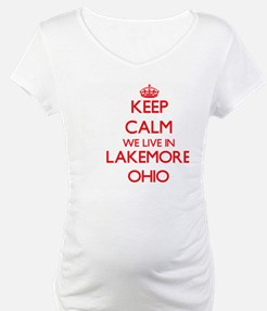 Keep calm we live in Lakemore Oh Shirt