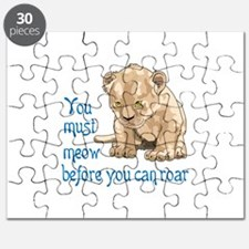 MEOW BEFORE ROAR Puzzle