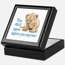 MEOW BEFORE ROAR Keepsake Box