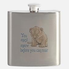 MEOW BEFORE ROAR Flask