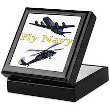 Fly Navy Keepsake Box