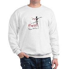 itwirl Baton Twirler Sweatshirt