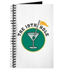 The 19th Hole Martini Journal