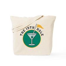 The 19th Hole Martini Tote Bag