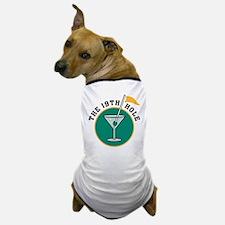 The 19th Hole Martini Dog T-Shirt