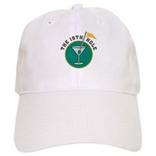 The 19th Hole Martini Baseball Cap