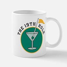 The 19th Hole Martini Mug