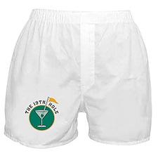 The 19th Hole Martini Boxer Shorts