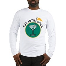 The 19th Hole Martini Long Sleeve T-Shirt