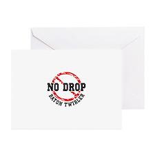 No Drop Baton Twirler Greeting Cards (Pk of 10