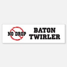 No Drop Baton Twirler Bumper Car Car Sticker