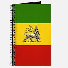 Rasta Reggae Lion Journal