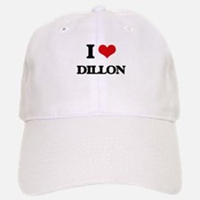 I Love Dillon Baseball Baseball Cap