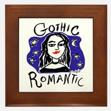 Gothic Romantic Framed Tile
