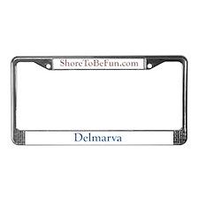 Delmarva License Plate Frame