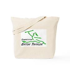 Cometition Baton Twirler Tote Bag