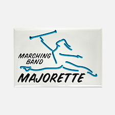 MARCHING BAND MAJORETTE Rectangle Magnet