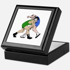 WRESTLERS Keepsake Box