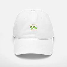 GREEN FLIP FLOPS Baseball Baseball Baseball Cap