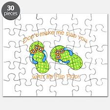 GREEN FLIP FLOPS Puzzle