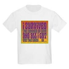 I Survived The Summer Of Love T-Shirt