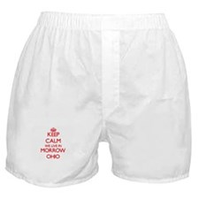 Keep calm we live in Morrow Ohio Boxer Shorts