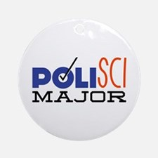 Political Science Major Ornament (Round)