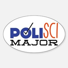 Political Science Major Decal