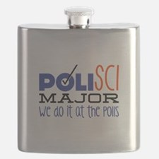 At The Polls Flask