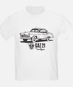 Gaz 21 Volga Vintage Retro Russian Car T-Shirt