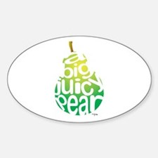 Big Juicy Pear Decal