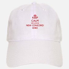 Keep calm we live in New Concord Ohio Baseball Baseball Cap