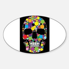 Skull Bubble Decal
