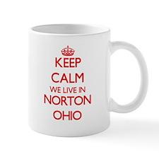 Keep calm we live in Norton Ohio Mugs