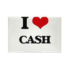 I Love Cash Magnets