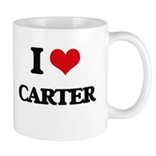 I Love Carter Mugs