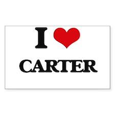 I Love Carter Decal