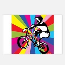 BMX Rider Postcards (Package of 8)