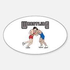 WRESTLERS Decal