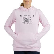 Space: 1999 - Moonbase A Women's Hooded Sweatshirt