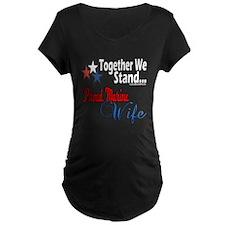 Proud Marine Wife T-Shirt