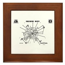 Space: 1999 - Moonbase Alpha Framed Tile