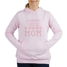 Chinese Crested Mom Women's Hooded Sweatshirt