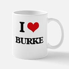 I Love Burke Mugs