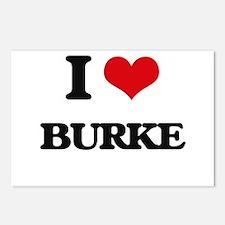 I Love Burke Postcards (Package of 8)